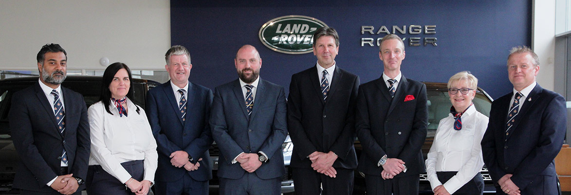 Marshall Military Sales Team for Jaguar and Land Rover Savings